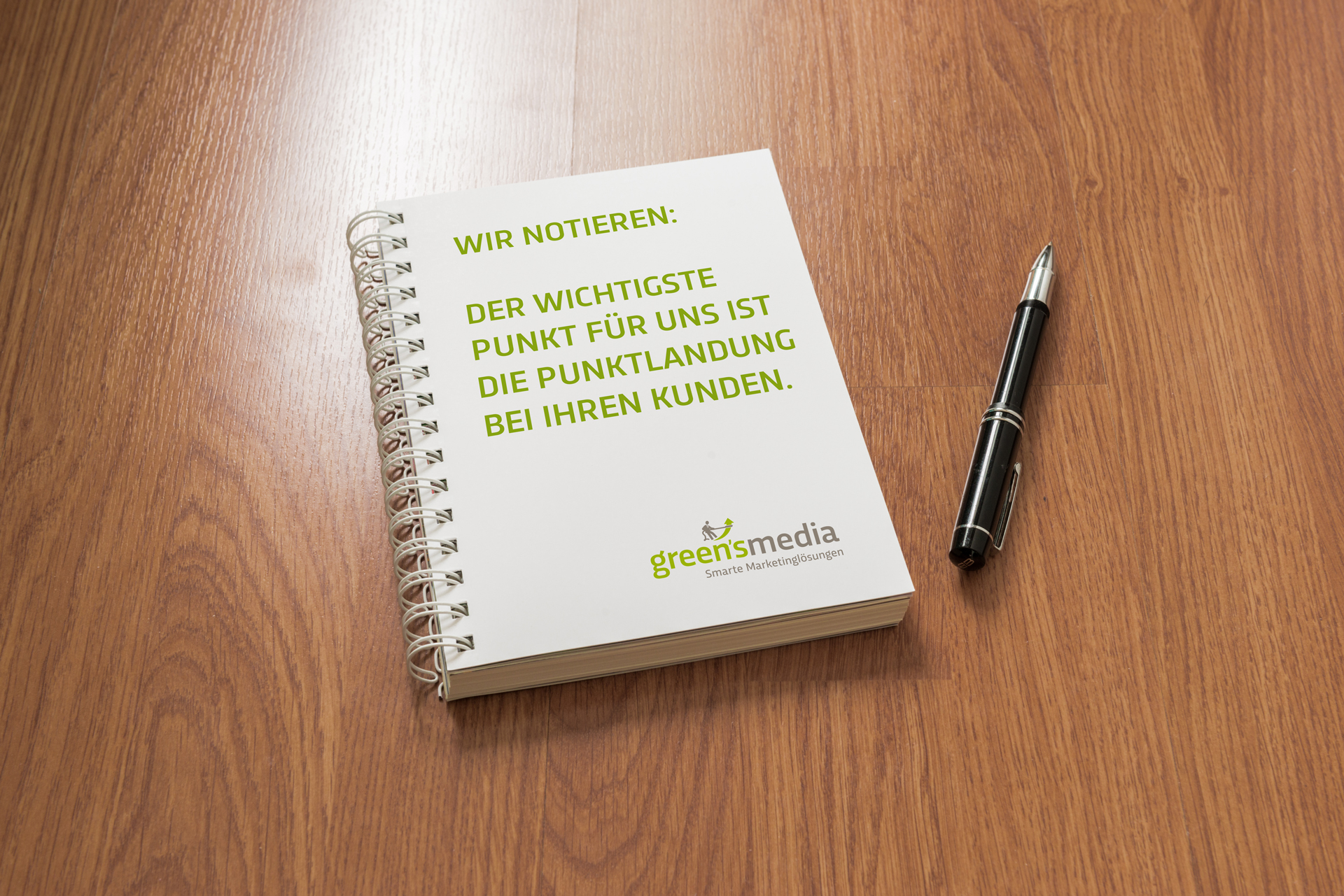 Corporate Design gestalten mit Greensmedia