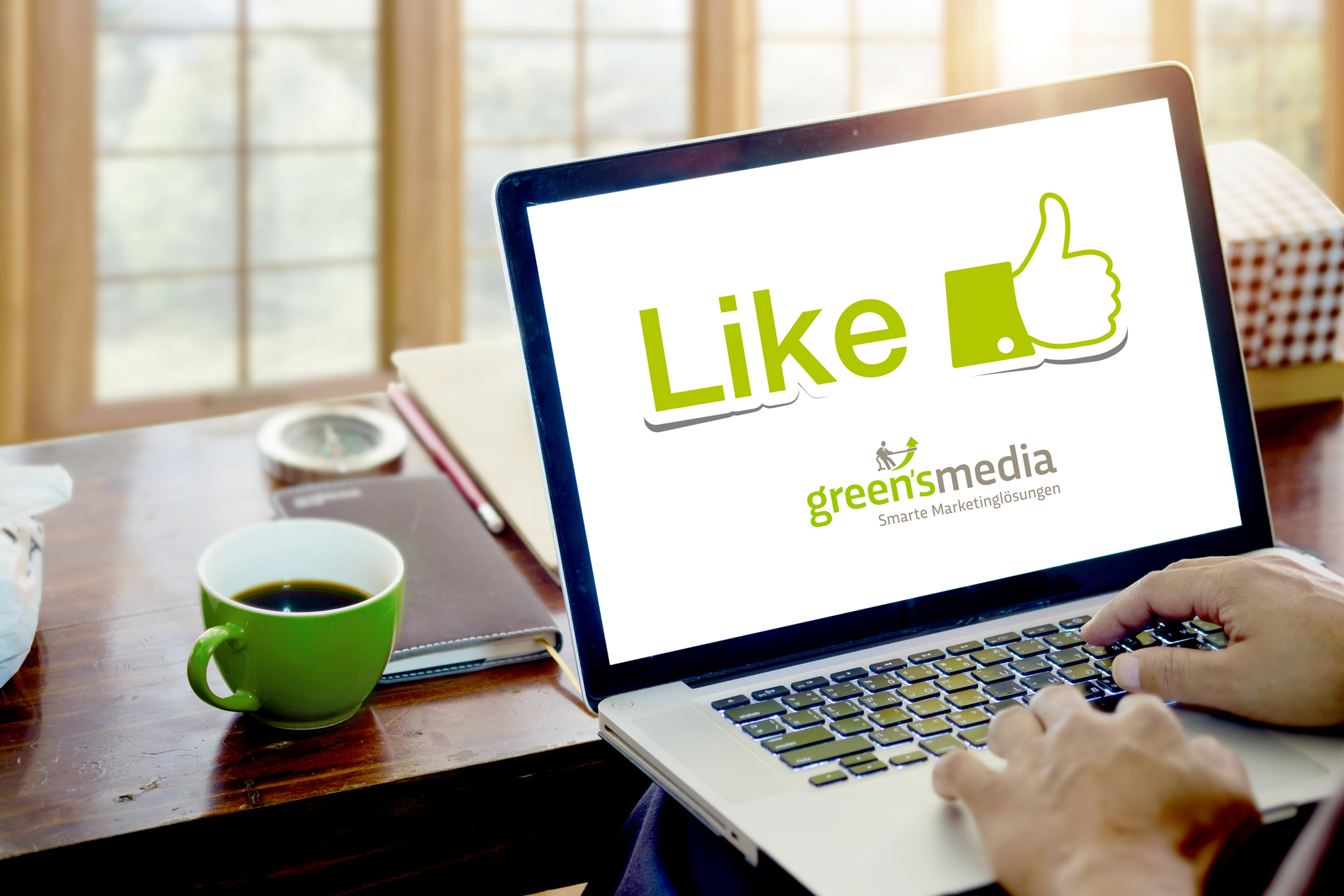Greensmedia bietet Ihnen Socialmedia Marketing