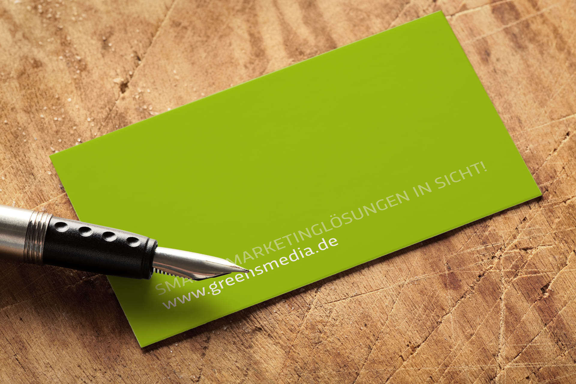 Smarte Marketinglösungen in Sicht mit Greensmedia